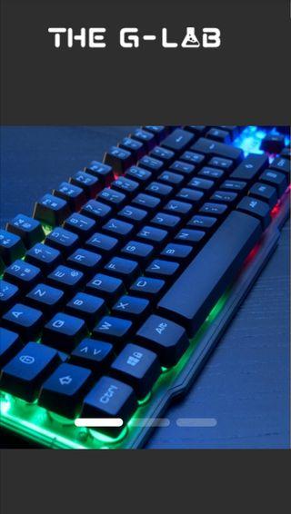 Teclado gaming G-Lab