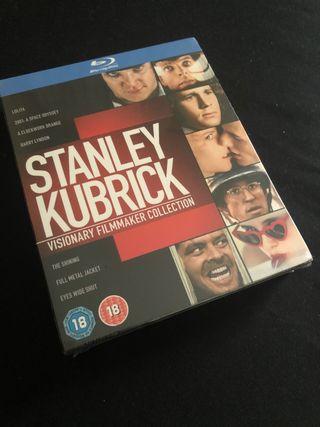 Bluray Colección Stanley Kubrick (Nueva)
