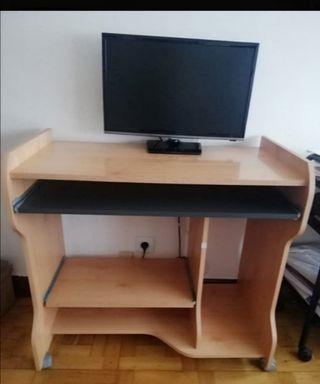 Mesa escritorio ruedas