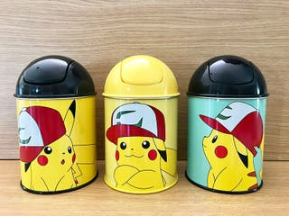 Cubos de Basura Pikachu