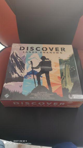 juego de mesa discover lands unknown precintado
