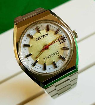 189/03-Reloj CETIKON de cuerda, vintage, NOS (new