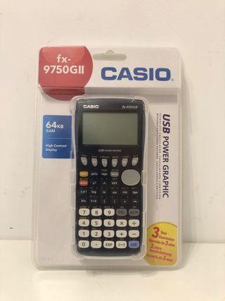 Calculadora Grafica Casio Fx-9750Gll Nueva
