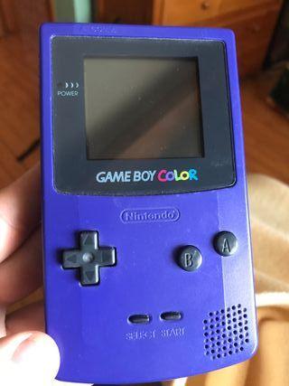 Gameboy Color Morada