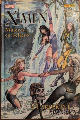 X-Men. Mujeres en Peligro.