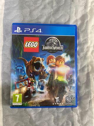 Juego de PS4: LEGO JURASSIC WORLD