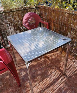 Mesa terraza, bar.