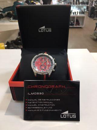 Reloj Lotus Edición Marc Marquez negro y rojo