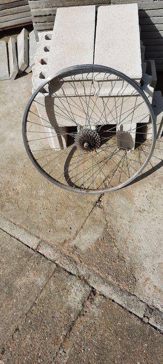 rueda de bicicleta pulgadas 26 x1 ,75