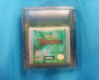 Tarzan. Game boy color.