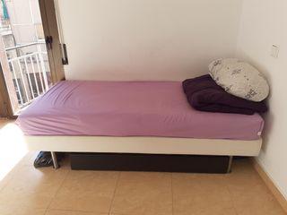 cama individual 200x90CM