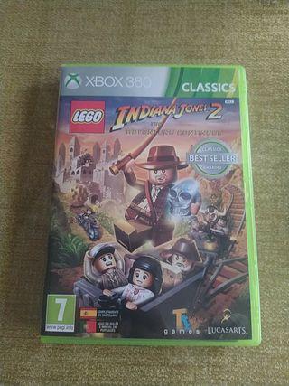 Juego Indiana Jones II Xbox 360