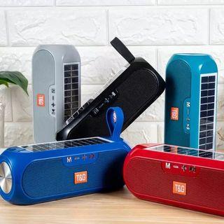 Altavoz Bluetooth Solar T&G/ USB, SD / Bateria de