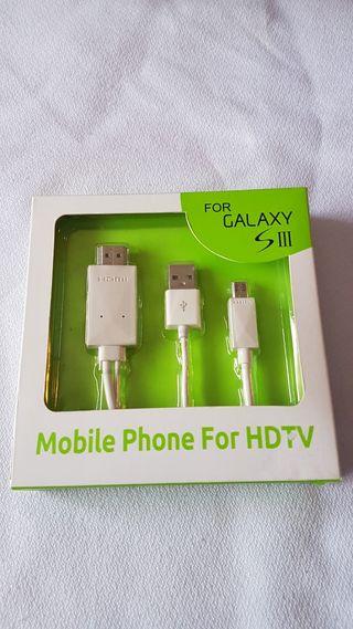 CABLE MICRO USB A HDMI