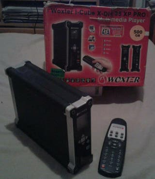 Se vende disco duro externo multimedia