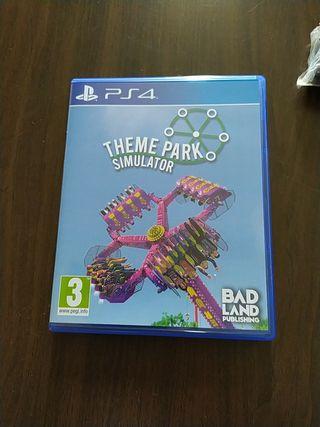 Cambio por otro. Theme Park Simulator