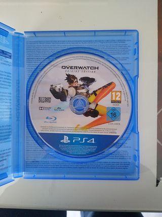 Overwatch Ps4 Origins Edition