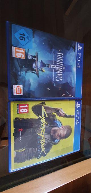 Pack de videojuegos Ps4