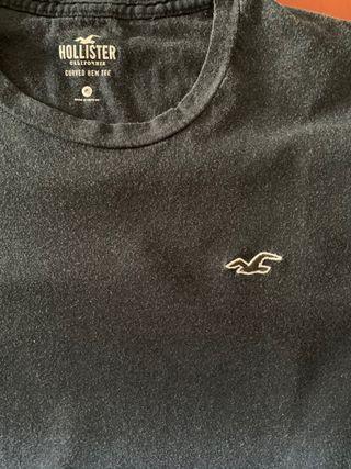 Camiseta Hollister XS azul