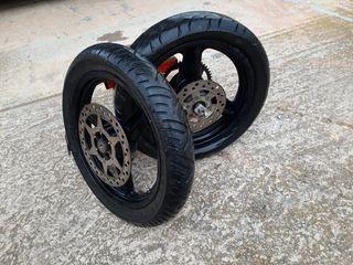 ruedas para motos supermotard 16 pulgadas
