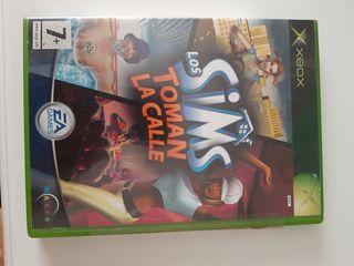 videojuego xbox los sims