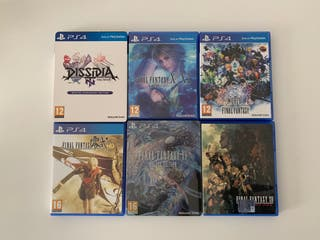 Colección Final Fantasy PS4