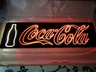 Panel Led CocaCola