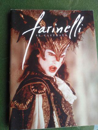 Dossier de prensa de película Farinelli