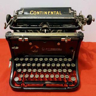 Máquina de escribir CONTINENTAL, c1920