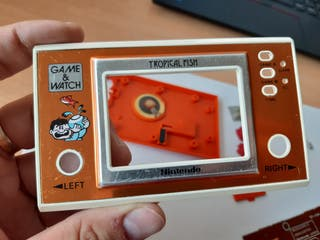 Nintendo Game & Watch Tropical Fish (piezas)