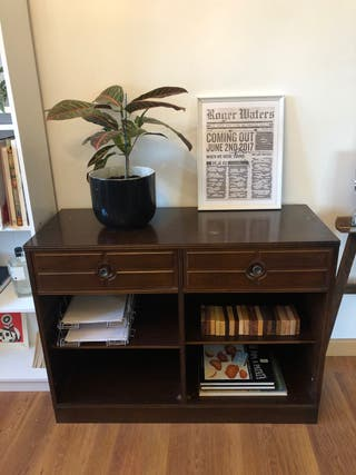 Mueble aparador estanteria madera