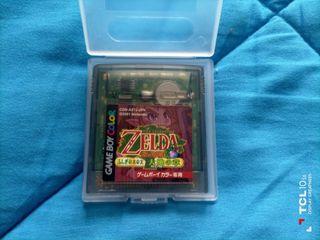 Zelda Oracle of Seasons. (japones)Game boy color.