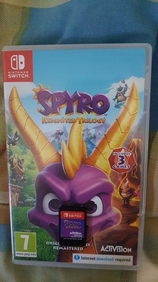 spyro reignited trilogy para nintendo switch
