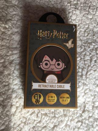 Cable usb retráctil Harry Potter