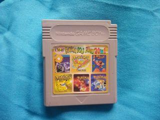 Game boy color 20 juegos en 1.(reales).Hay 20