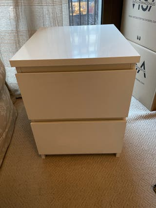 Cajonera IKEA 2 cajones - blanco
