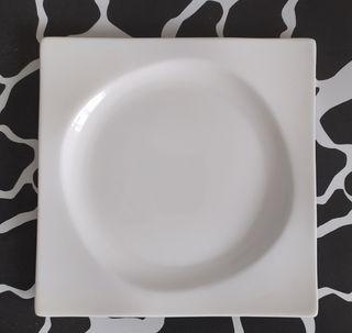 Dúo de platos llanos