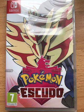 Pokémon Escudo PRECINTADO Nintendo Switch