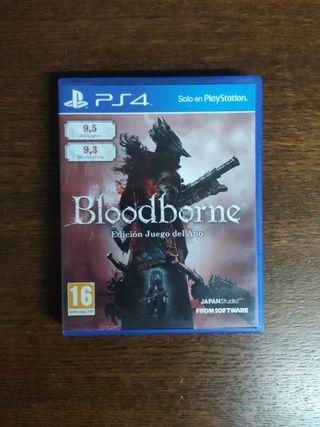 Bloodborne Juego del Año - PS4