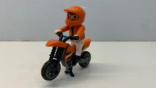 Playmobil 4698 niño con moto
