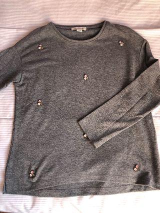 jersey niña gris, Massimo Dutti