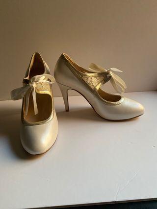 Zapatos de novia sin estrenar - talla 41