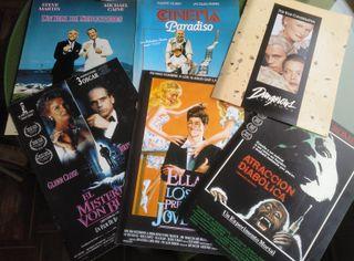 Dossier de prensa de varias películas