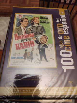 DVD historias de la radio