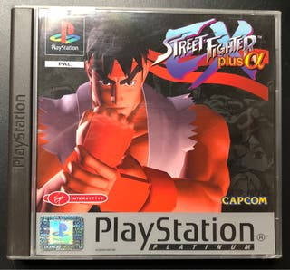 PlayStation Street Fighter Plus Alpha.Nuevo