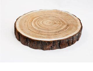 Rodaja madera natural
