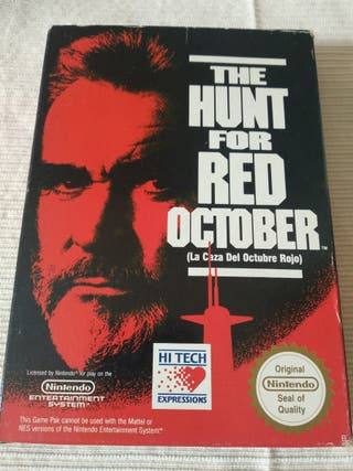 La caza del octubre rojo. The Hunt for Red october
