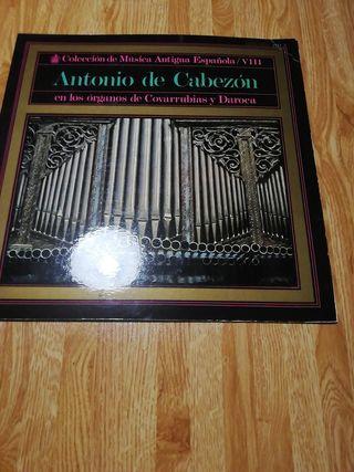 Disco de vinilo de Música Antigua Española