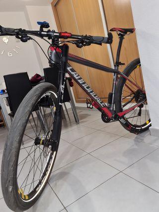 bicicleta cannondale fsi carbon 3 2015, 29 talla M