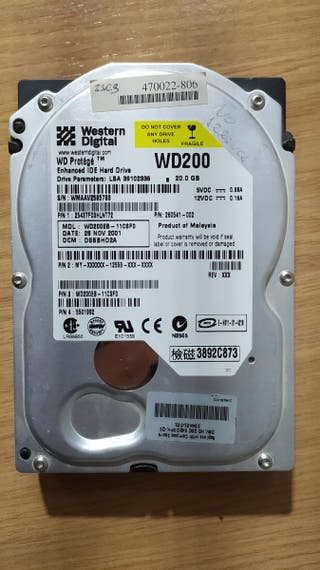 2 Discos duros 20 Gb